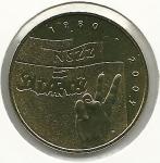 monedas de Europa - Polonia -  Solidarnosc-Anverso