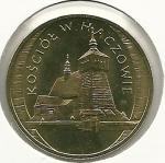 monedas de Europa - Polonia -  La pequeña Polonia(iglesia Haczow)-Anverso