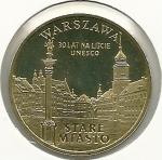 monedas de Europa - Polonia -  Warszawa-Anverso