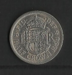 monedas de Europa - Reino Unido -  Elizabeth II / Reverso.