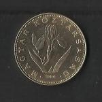 monedas de Europa - Hungría -  Republica.