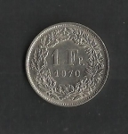 monedas de Europa - Suiza -  Confederacion Helvetica / reverso
