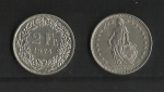 monedas de Europa - Suiza -  Confederacion Helvetica