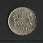 monedas de Europa - Portugal -  Republica Portuguesa / reverso