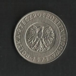 monedas de Europa - Polonia -  Emblema Nacional. / anverso.