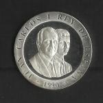 monedas de Europa - España -  Barcelona 92 / Emblema / reverso