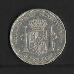 monedas de Europa - España -  Alfonso XII / reverso / 1875