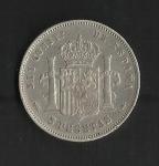 monedas de Europa - España -  Alfonso XII / reverso / 1883
