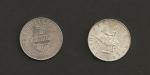 monedas de Europa - Austria -  Caballero en montura