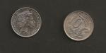 monedas de Oceania - Australia -  Reina Isabel II