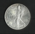 monedas de America - Estados Unidos -  Libertad caminando./ anverso