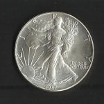monedas de America - Estados Unidos -  Libertad caminando.