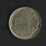 monedas de Europa - España -  Año Jacobeo / anverso.