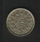 monedas de Europa - España -  Año Jacobeo / reverso.