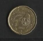 monedas de Europa - España -  Cervantes / Error / (nº2)