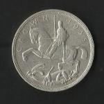 monedas de Europa - Reino Unido -  Jorge V / reverso./ 1935