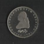 monedas de Europa - Alemania -  Gotthold Ephraim Lessing (Proof) / anverso.