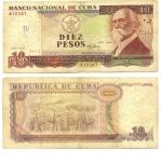 monedas de America - Cuba -  10 pesos