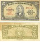 monedas de America - Cuba -  20 pesos
