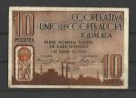 monedas de Europa - España -  Guerra Civil / Igualada / anverso.
