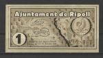 monedas de Europa - España -  Guerra Civil / Ripoll / anverso.