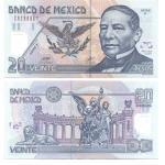 monedas de America - México -  20 pesos