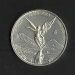 monedas de America - México -  Serie Libertad / Onza Troy de Plata / anverso