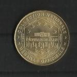 monedas de Europa - Francia -  Medalla Oficial / Castillo de los Condes de Foix/ reverso