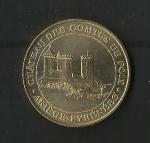monedas de Europa - Francia -  Medalla Oficial / Castillo de los Condes de  Foix / anverso
