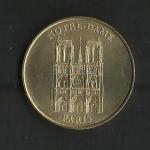 monedas de Europa - Francia -  Medalla Oficial / Notre-Dame  / anverso.