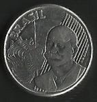 monedas de America - Brasil -  CINCUENTA CENTAVOS BRASIL (POSTERIOR)