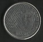 monedas de America - Brasil -  DIEZ CENTAVOS BRASIL (POSTERIOR)