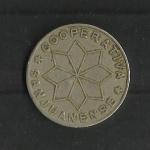 monedas de Europa - España -  Cooperativa Sanjuanense / Anverso