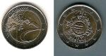 monedas de Europa - España -  X Aniversario del Euro 2012  2 €