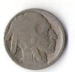 monedas de America - Estados Unidos -  BUFALO-INDIO - USA (CARA POSTERIOR)