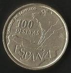 monedas de Europa - España -  CAMINO DE SANTIAGO - PESETAS. (FRONTAL)