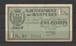 monedas de Europa - España -  Ajuntament de Banyoles / Anverso
