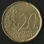 monedas de Europa - Italia -  EURO CENT - UMBERTO BERLUSCONI (FRONTAL)