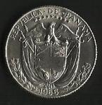 monedas de America - Panamá -  REPUBLICA DE PANAMA (POSTERIOR)