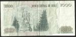 monedas de America - Chile -  CHILE A SUS HEROES - MIL PESOS