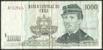 monedas de America - Chile -  IGNACIO CARRERA PINTO - MIL PESOS