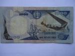 monedas de America - Colombia -  El Banco de la República-Mil Pesos-Monumento:Los Heroes del Pantano de Vargas 1819-(reverso)