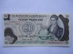 monedas de America - Colombia -  Banco de la República-Veinte Pesos-El Sabio: Francisco José de Caldas.(anverso)
