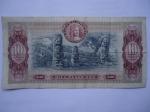 monedas de America - Colombia -  Banco de la República.Diez Mil Pesos-Parque Arqueológico de San Agustín.(reverso)