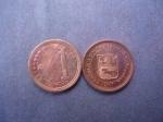 monedas de America - Venezuela -  Rep. Bolivariana de Venezuela- Un Céntimo Fuerte 2007(anverso y reverso)
