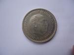 monedas de Europa - España -  Francisco Franco,caudillo de España x la G.de Dios(1957)