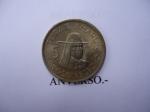 monedas de America - Perú -  Tupac Amarú- Cinco Soles de Oro