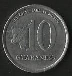 monedas de America - Paraguay -  MONEDA PARAGUAY - ALIMENTOS PARA EL MUNDO (FRONTAL)