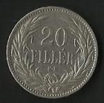 monedas de Europa - Hungría -  MONEDA DE HUNGRIA - MAGYAR KIRALYI VALTOPENZ (FRONTAL)