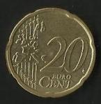 monedas de Europa - Austria -  MONEDA AUSTRIA - EURO CENT (FRONTAL)